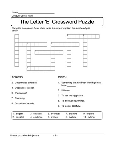 Puzzle For ELLs