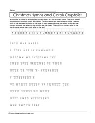 Cryptolist Christmas Printable