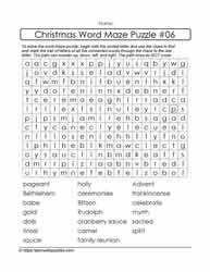 Interactive Christmas Puzzle