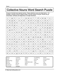 A Puzzle Full of Nouns