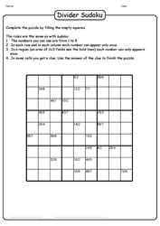 Fun With Puzzles - Sudoku