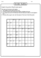 Challenging Sudoku Puzzle