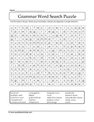 Search A Word - Grammar