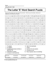 Word Search for ELLs