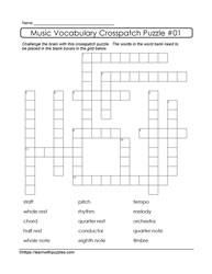 Crosspatch Puzzle