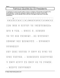 Cryptograms and Quotes