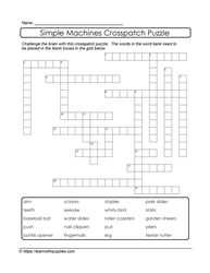 Vocabulary Building Crosspatch Puzzles