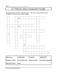 Crosspatch Puzzle St. Patrick's Day