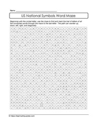 A-MAZing Word Maze Puzzle