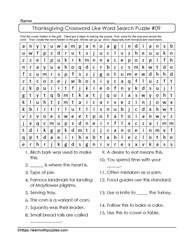 Crossword Word Search