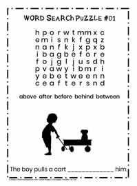 K-2 Word Search Puzzle