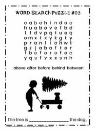 Primary Vocabulary Puzzle
