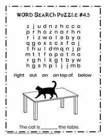 K-2 Learning to Read Activity Page