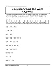 Countries Around The World Cryptolist